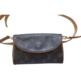 Louis Vuitton-Cross Body / Sac ceinture-Marron,Doré,Marron clair