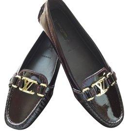Louis Vuitton-Moccassins-Prune