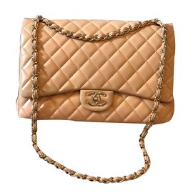 Chanel-Sac à main-Beige