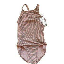 Adidas-Stella Mccartney 1 piece swimsuit for Adidas-Pink,Khaki