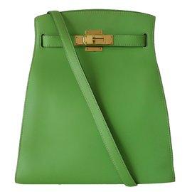 Hermès-Kelly sport-Vert