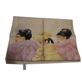 Christian Dior-Foulards-Multicolore ... 9515b137870