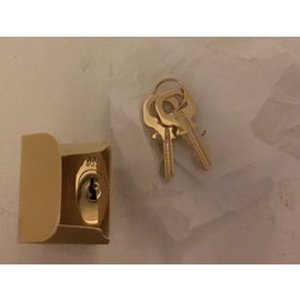 Louis Vuitton-Padlock Brass-Golden