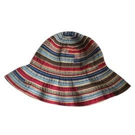 Autre Marque-chapeau souple multicolore vent et le soleil-Multicolore