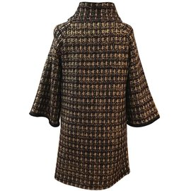 Chanel-Manteau de la collection byzantine légendaire-Marron