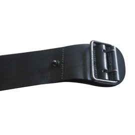 Burberry-Wide Belt(5cm) Black-Black