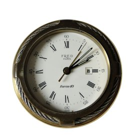 Fred-Table clock-Golden