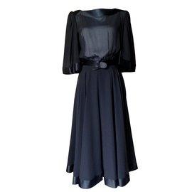 Balmain-Robes-Noir