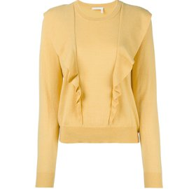 Chloé-pulls, vests-Yellow