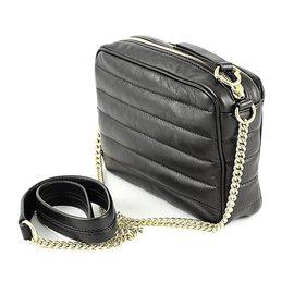 Moncler-Leather bag-Black