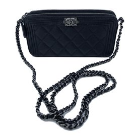 Chanel-Clutch Bag-Black