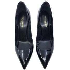 Yves Saint Laurent-Heels-Black