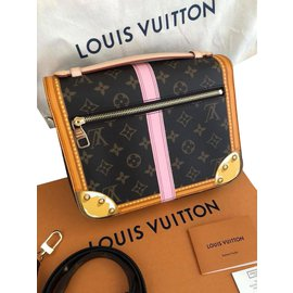 Louis Vuitton-Pochette Métis trunks M43628-Multicolore