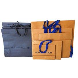 Louis Vuitton-Set of bags-Brown