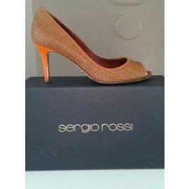 Sergio Rossi-serious reds-Beige