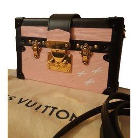 Louis Vuitton-Modèle petite malle-Noir,Rose,Doré