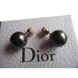 Dior-Boucles d'oreille-Gris anthracite
