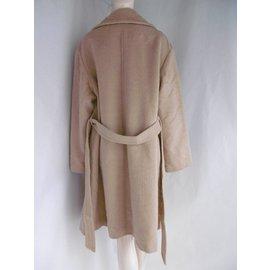 Junko Shimada-Manteau en laine-Beige
