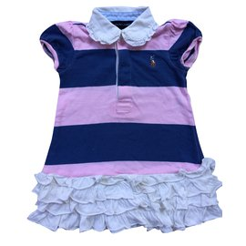 Ralph Lauren-Girl sets-Pink,White,Navy blue
