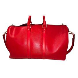Louis Vuitton-Louis Vuitton x Suprême-Rouge