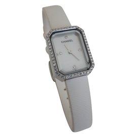 Chanel-watch-White
