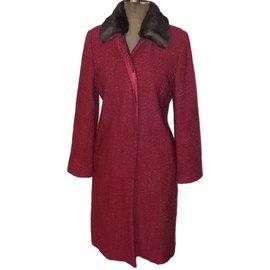 Pablo De Gerard Darel-Coats, Outerwear-Red,Dark red ... faa4a47d3c4d