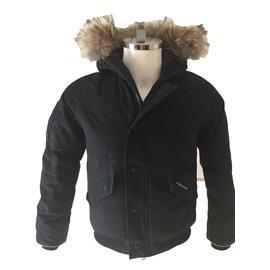 Canada Goose-Boy's coats-Black