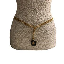 Chanel-Belt/Necklace-Golden