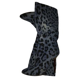 Dolce & Gabbana-Boots-Blue
