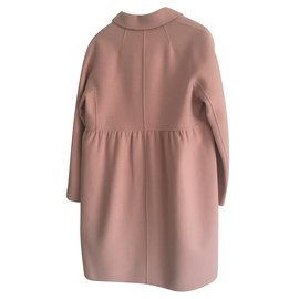 Max Mara-Manteau-Rose