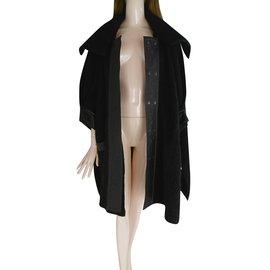 Pierre Cardin-Manteau-Noir
