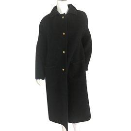 Hermès-Manteau-Noir