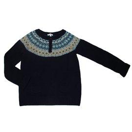 Jacadi-Pullover-Marineblau
