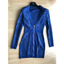 Balmain-Dress-Dark blue