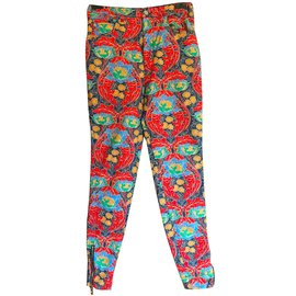 Louis Vuitton-Pantalons, Cuissardes-Multicolore
