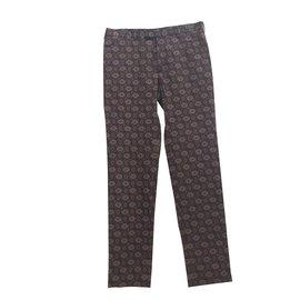 Prada-Pantalons-Multicolore