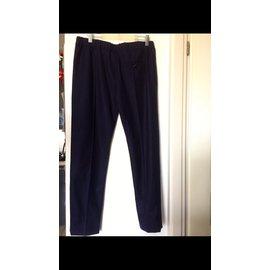 Louis Vuitton-Pantalons, Cuissardes-Bleu Marine