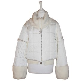 Chanel-Vintage Ski Jacket-White