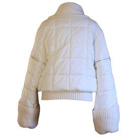 Chanel-Veste de ski vintage-Blanc
