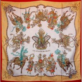 Hermès-la fête du roi soleil-Multicolore