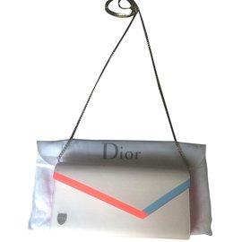 Dior-Portefeuilles-Blanc