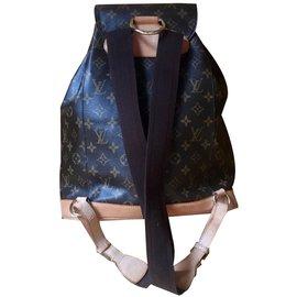 Louis Vuitton-Sac à dos-Marron