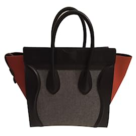Céline-Handbag-Grey