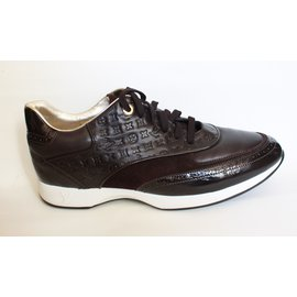 Louis Vuitton-Sneakers-Dark brown