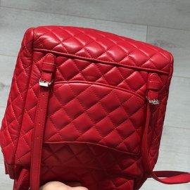 Chanel-URBAN SPIRIT CALFSKIN SMALL-Red