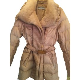 Max Mara-Manteaux, Vêtements d'extérieur-Beige