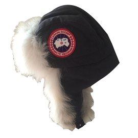 Canada Goose-Hats-Dark grey