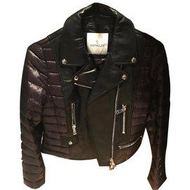 Moncler-puffer veste-Noir