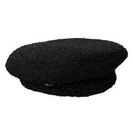 Chanel-Beret Hat-Black ... d0dba2a2d8f
