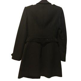 Burberry-Wool coat-Black